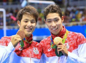 メダル萩野