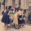 お呼ばれ結婚式ドレス20~30代人気おすすめブランド。2次会にも!