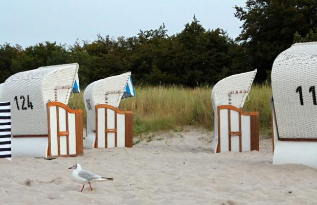 Das obligatorische Strandkorbfoto. Foto © Franziska Gurk