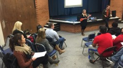 Parents and college bound students learn about financial aid at GHS; one more meeting set