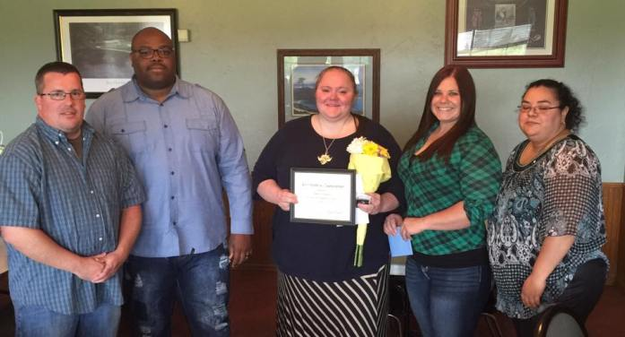 Lemke selected as LCSO Dispatcher of the Year