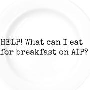 breakfast AIP
