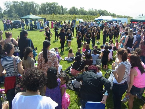 Zumba at the GUV Summer Funday 2011