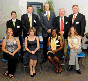 Cindy Johnson (second from left) 2008 Hall of Fame Inductee