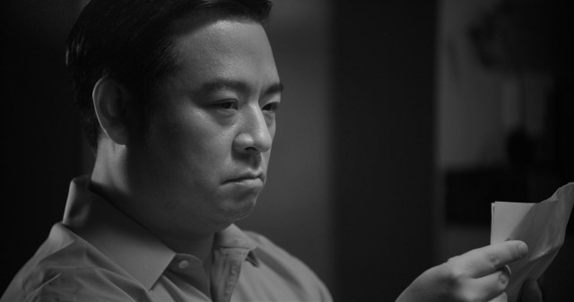 'The Investor' (Rex Lee) considers an offer. Photo by Michael Marius Pessah.