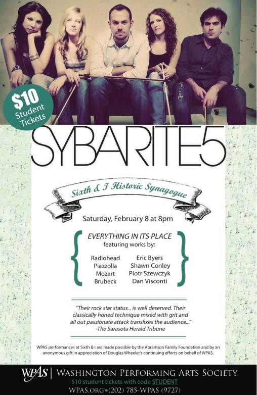Sybarite5 Student Ticket E-Flyer (1)