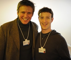 Philip Rosedale and Mark Zuckerberg