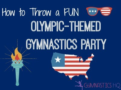 olympic themed party gymnasticcs