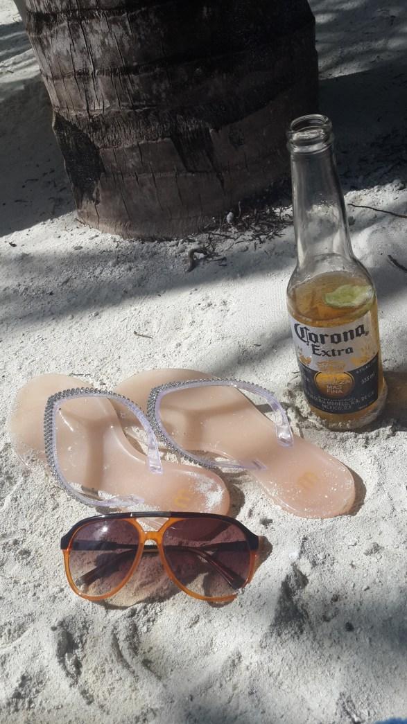 Shades, Slippers and Corona