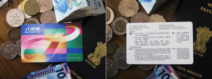 Octopus Card for Hong Kong Travel