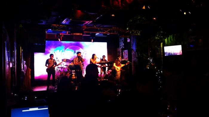 Hard Rock Cafe at Lan Kwai Fong, Hong Kong