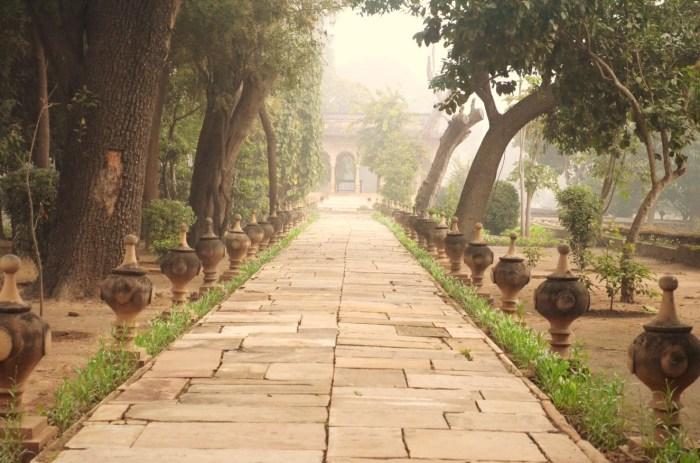 Corridor outside Deo-Bagh Restaurant