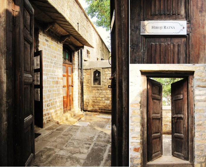 Beautiful Rustic Entrance and Private Courtyard of Hiroji Ratna
