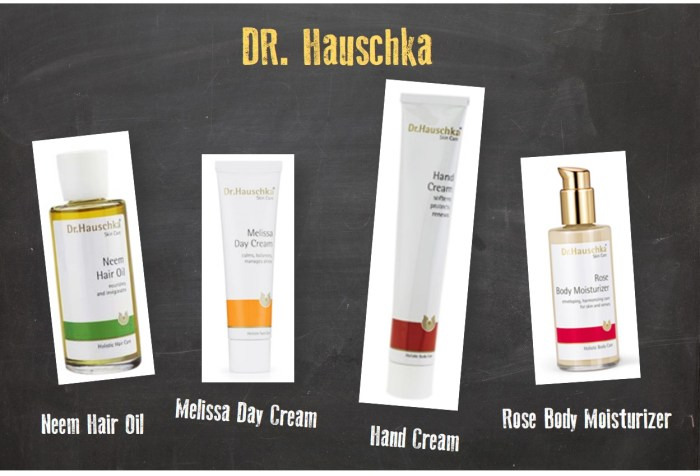 Dr. Hauschka Best Products