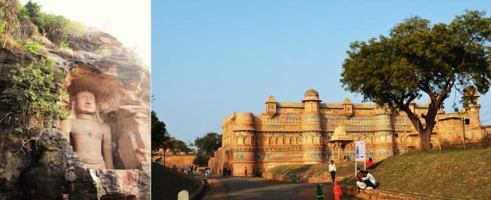Gwalior Fort and Jain tirthankaras, Gwalior