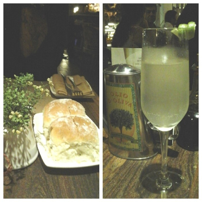 Bread and Drinks @Amour Bistro