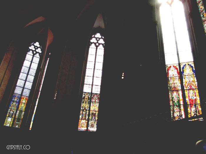 Stained Glass Clerestory Windows, Cologne Cathedral | Gothic Architecture