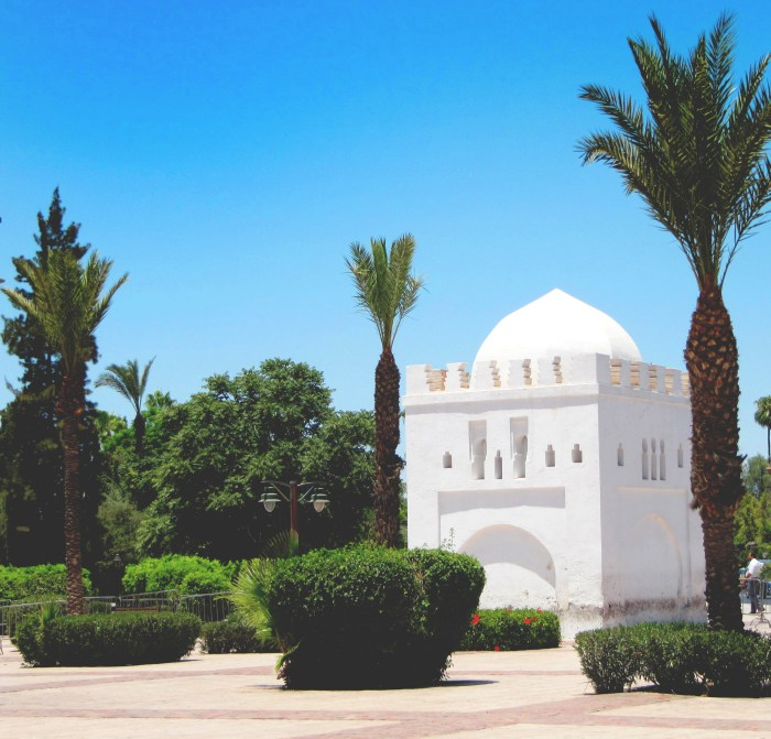 Kotubia Mosque and Tombs, Marrakech