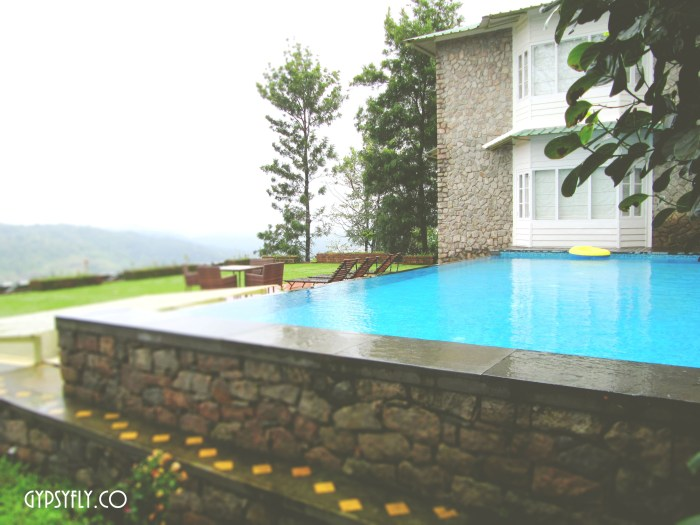 Pool at Spice Tree