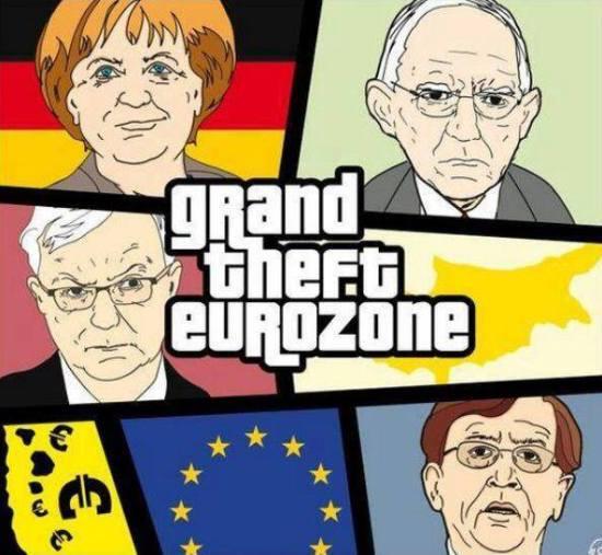 grand theft eurozone
