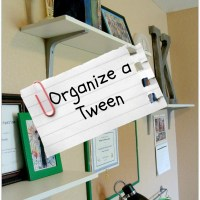 Organize a Tween Room and Get Rid of Clutter
