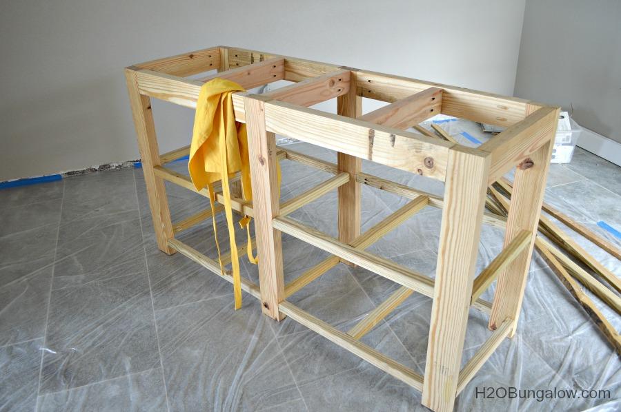Wooden Bathroom Vanity Plans Shaker Pdf Plans Bathroom Vanity Diy
