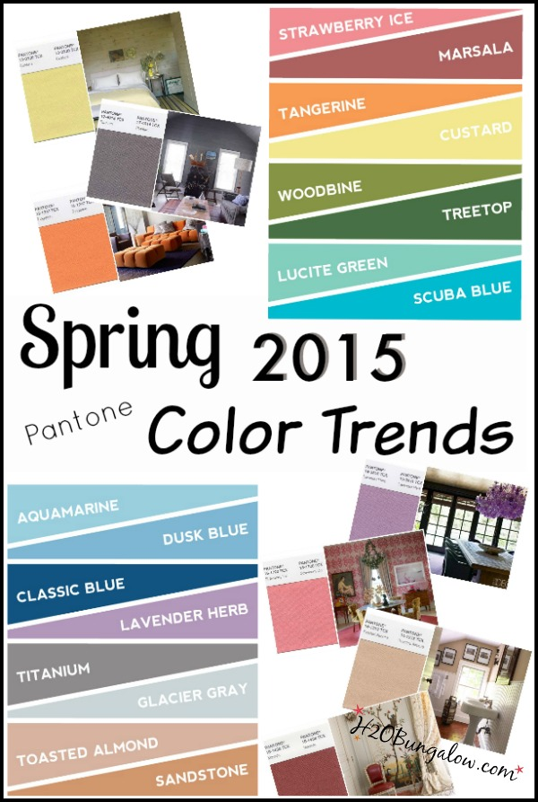 Pantone Spring 2015 Color Trends
