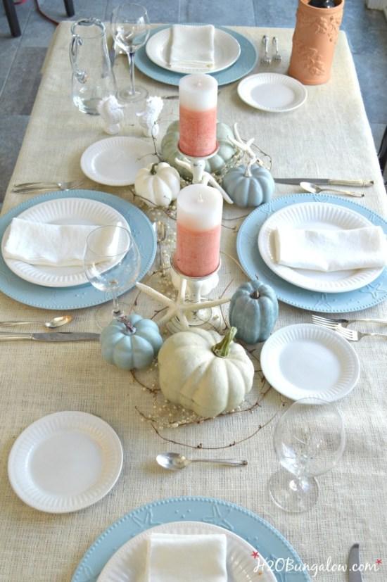 Six Beautiful Thanksgiving Tablescape Ideas | Bragworthy Thursdays| blesserhouse.com