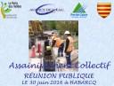 ASSAINISSEMENT COLLECTIF – Réunion publique 30/06/2016