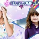 Fotomontaje de Cumpleaños con Violetta