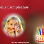 Marco de Cumpleaños con pastel