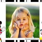 Marco de Minnie y Mickey