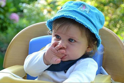 child finger photo