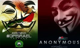 It's #OpIsrael, Hundreds of Israeli websites are being attacked by Anonymous hackers