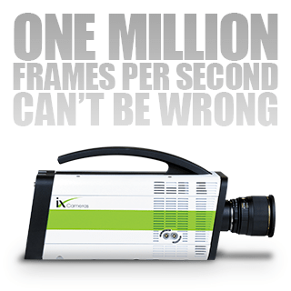 One Million Frames Per Second Can't Be Wrong – iX Cameras i-SPEED 7 Series