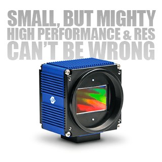 Small, But Mighty High Performance and Resolution Can't Be Wrong – SVS Vistek SVCam-HR