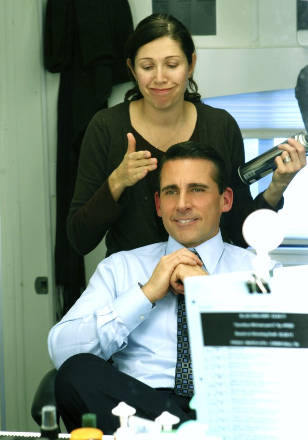 Steve sits in my hair chair for 7 seasons.  He is a great  actor, and a nice man. He was always kind to his cast and crew.