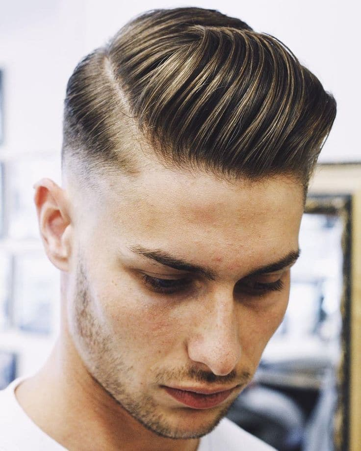 10 Stately Side Part Hairstyles for Men of 4 by Leslie
