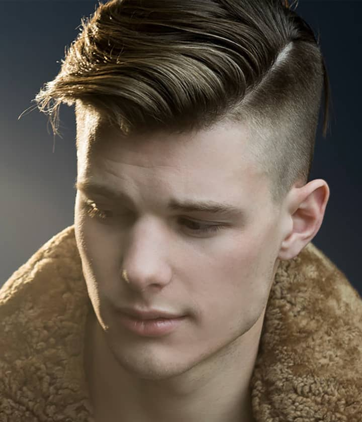 5 Slick Side Part Undercut Haircuts for Swell Fellows of 4 by Robin