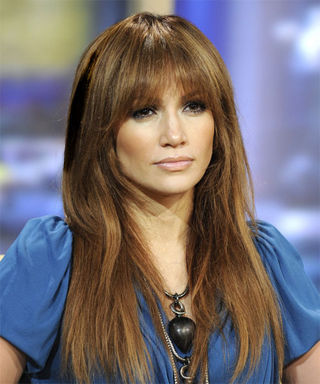 25 Beautiful Long Hairstyles With Bangs of 18 by Gregory