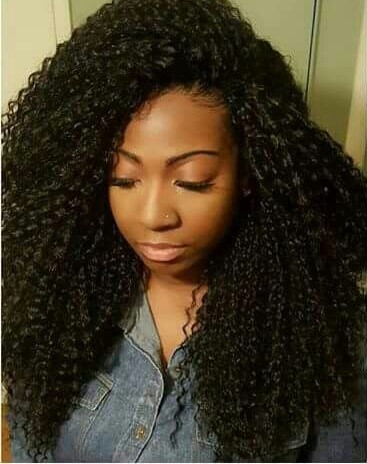 Crochet Braid Styles with Human Hair of 22 by Harry