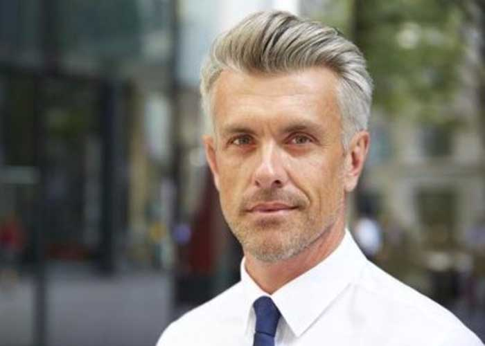 40 Of the Top Hairstyles for Older Men of 41 by Wesley