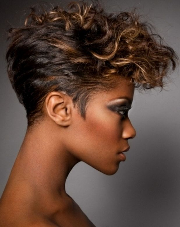 Short Hairstyles With Highlights For Dark Hair of 5 by Travis