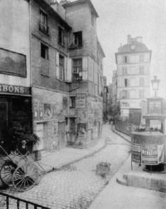 Eugene Atget. Rue des Ursins.