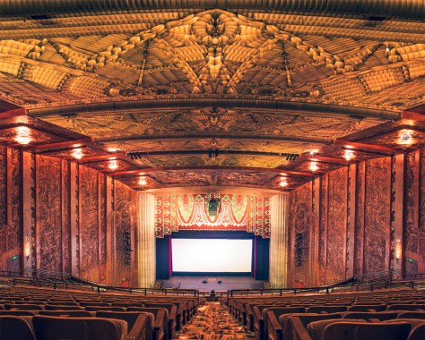 The Paramount Theatre III, Oakland, California, 2014 | © Franck Bohbot