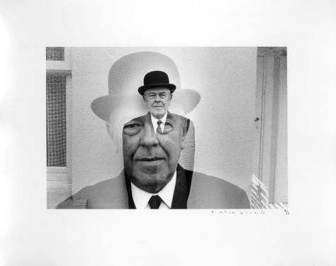 Duane Michals. Rene Magritte.