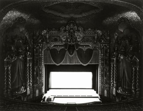 Hiroshi Sugimoto, Movie Theatre,Canton Palace, Ohio, 1980