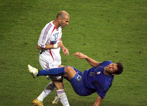 Zinedine Zidane. 2006. John MacDougall/AFP/Getty Images.