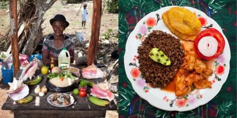 Serette Charles, 63 years old. Saint-Jean du Sud, Haiti. Lambi in creole sauce.