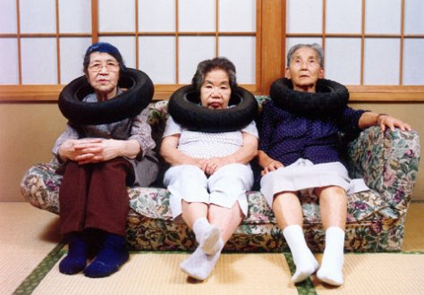 Tatsumi Orimoto. Tire Tube Communication: Mama and Neighbours.